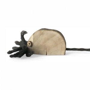 月桂樹のおもちゃ:ねずみ<br/>
