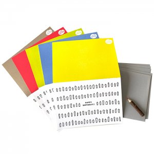 キャンドルカード:カラー<br/>