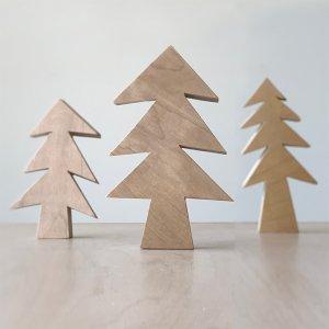 フィンランドバーチのクリスマスツリー