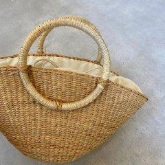 TODAYFUL Circle Handle Basket