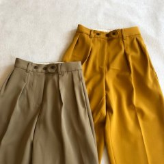 TODAYFUL  Twill Tuck Trousers