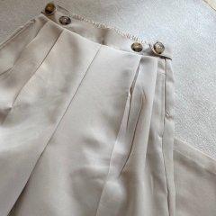 SELECT tuck wide pants