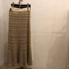 SELECT macrame skirt