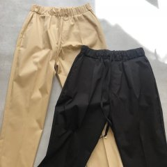 SELECT cotton tapered pants