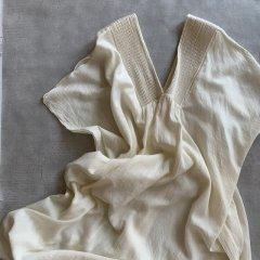 TODAYFUL Pintuck Caftan Dress