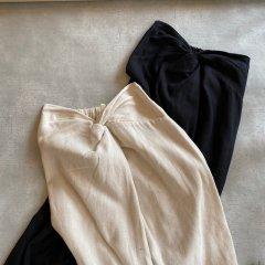 Ungrid シルクネップウエストデザインスカート