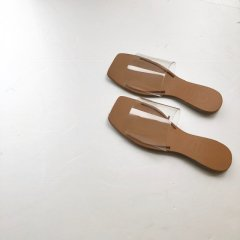 SELECT PVC flat sandal<img class='new_mark_img2' src='https://img.shop-pro.jp/img/new/icons16.gif' style='border:none;display:inline;margin:0px;padding:0px;width:auto;' />