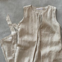 SELECT linen gilet<img class='new_mark_img2' src='https://img.shop-pro.jp/img/new/icons16.gif' style='border:none;display:inline;margin:0px;padding:0px;width:auto;' />