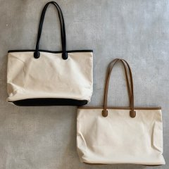 SELECT  canvas×leather tote