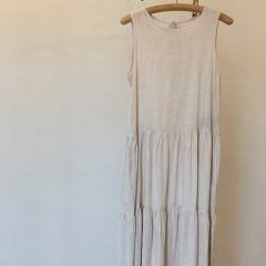 SELECT linen touch tiered one-piece