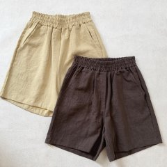 SELECT linen short pants