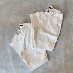 SELECT white denim