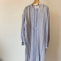 TODAYFUL sheer stripe gown