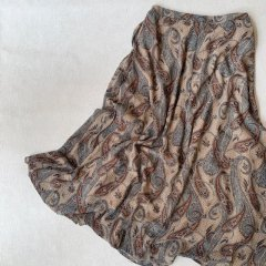 SELECT paisley skirt
