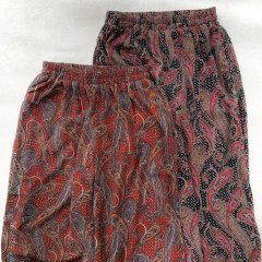 SELECT paisley wide pants