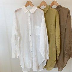 Ungrid  シアール−ズシャツ