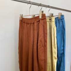 SELECT satin tapered pants