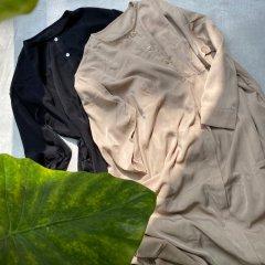 SELECT nocollar shirt one-piece