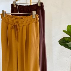 SELECT easy color wide pants