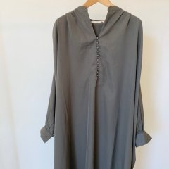 SELECT button down one-piece