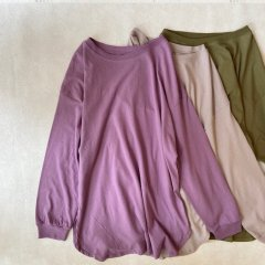 SELECT color round hem tee