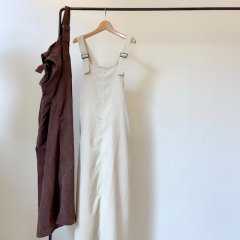 SELECT corduroy jumper skirt