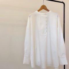 SELECT kurumi button cut shirt