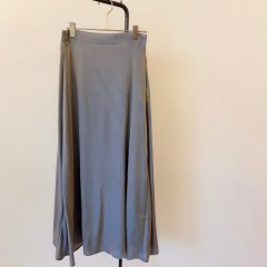 SELECT shiny satin skirt