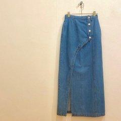 SELECT denim design skirt
