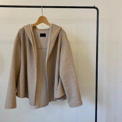 SELECT hood shaggy coat