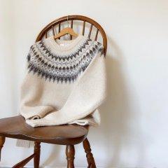 SELECT alpaca nordic sweater