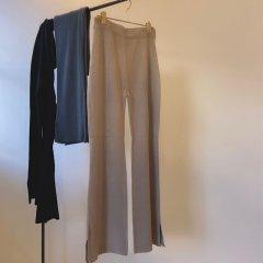 SELECT centerseam knit pants