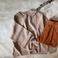 SELECT mohair mix knit