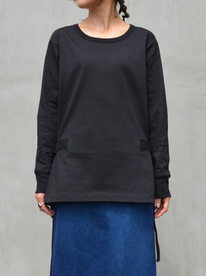White Mountaineering SIDE-BELTED LONG SLEEVES T-SHIRT