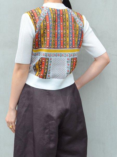 MameKurogouchi Cropped Knit Top