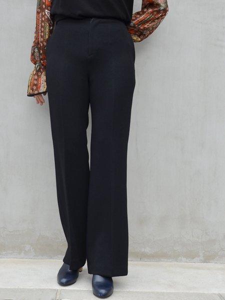 MameKurogouchi High Waisted Center Creased Pants