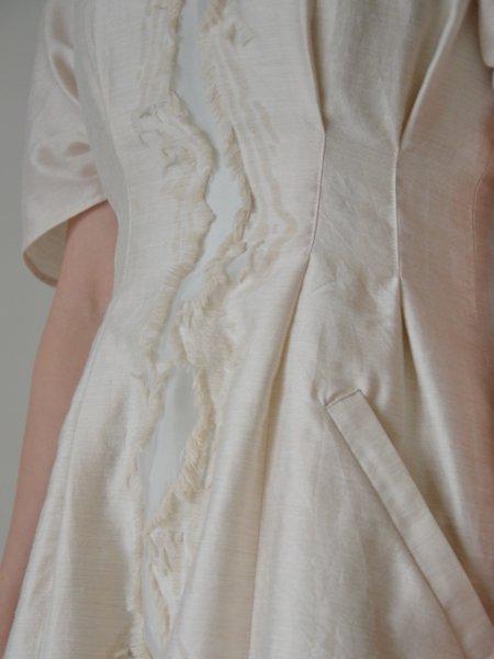 Lautashi wood jacquard battle dress