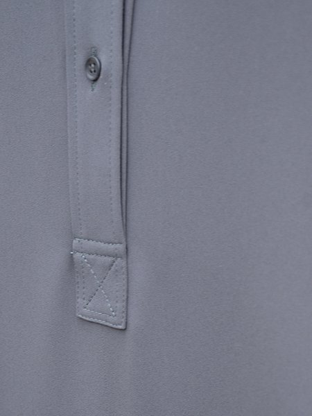 Graphpaper satin band collar dress