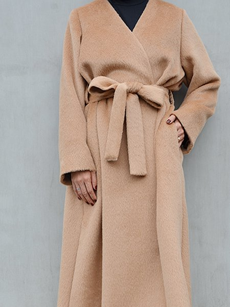 Graphpaper Suri Alpaca Gown Coat