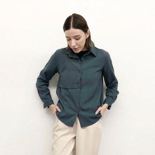 アシメデザインシャツ(GISELe5月号掲載商品)