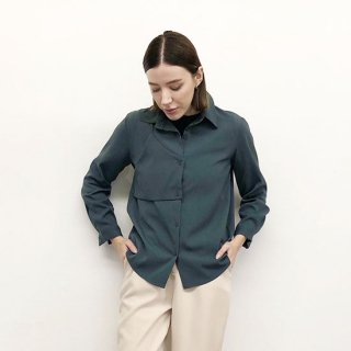 アシメデザインシャツ(GISELe掲載商品)