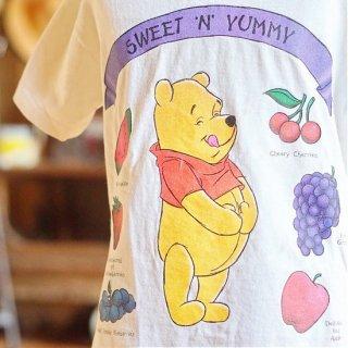 ヴィンテージディズニーくまのプーさんキッズTシャツ