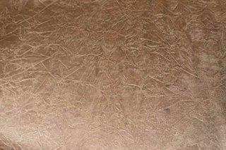 【生地】モカブラウン 光沢のあるクラッシュ模様 綾織りの生地 91cm×156cm 輸入生地