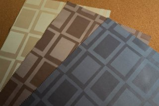 【生地】タイル柄 シックな布地 日本製 42×30cm 全3色 ランチョンマット、ティーマットに