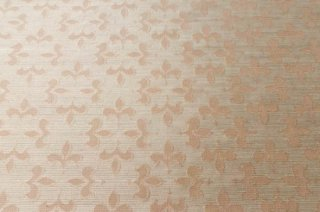 【生地】ライトグレー 百合文様 遮光性のある生地 86cm×156cm 輸入生地