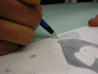 【あ〜るオリジナル】 シルバーポイント+描画用紙 セット
