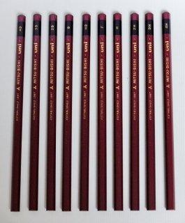 鉛筆(三菱ユニ)10本セット 基礎科コース推奨