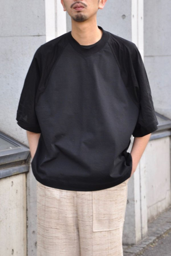 Edwina Hoerl / WIDE FIT T-SHIRT / BLACK