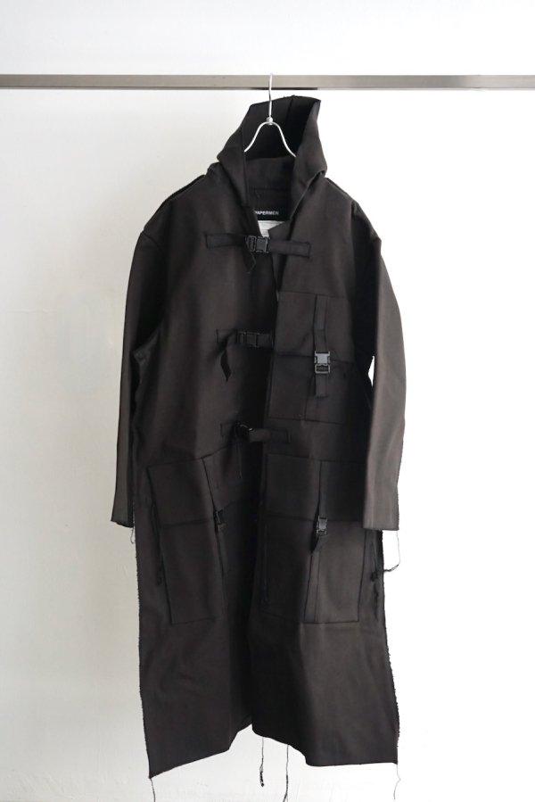 JAN JAN VAN ESSCHE / BAG #15 / BLACK DENSE TWILL