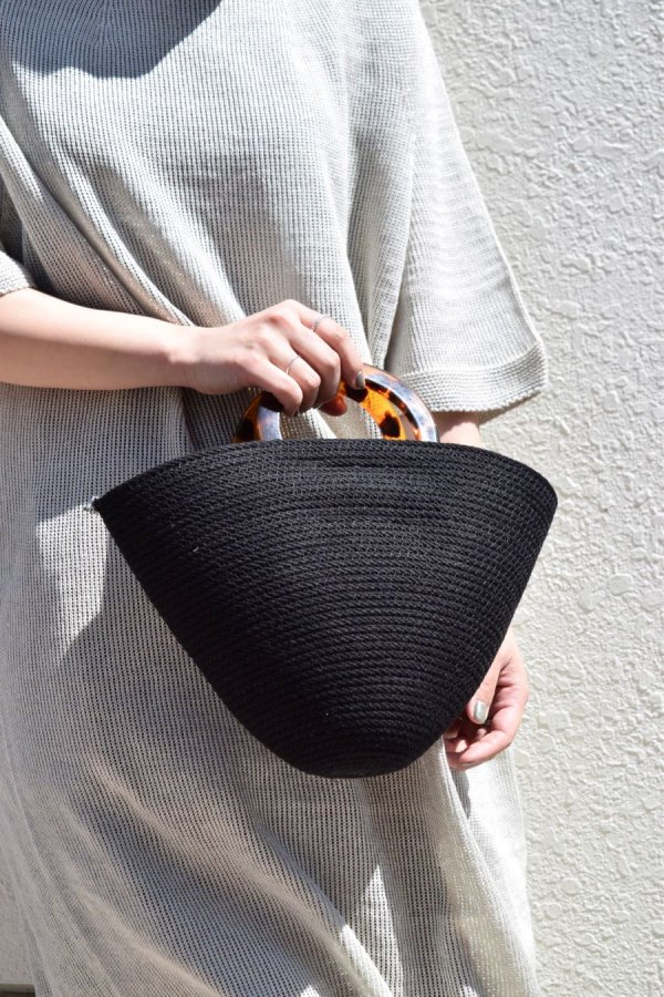 CATZORANGE / TOP HANDLE BAG / BLACK,ORANGE
